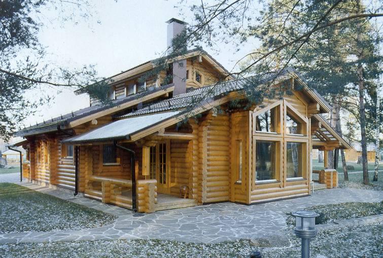 Blockbohlenhäuser bis 200m² - ø20-25cm - Niedrigenergie-Häuser aus ...