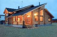Pension, Herberge, Restaurant aus Holz